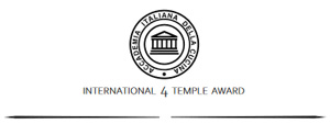 International 4 Temple Award
